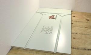 Low profile Warmboard subflooing panel