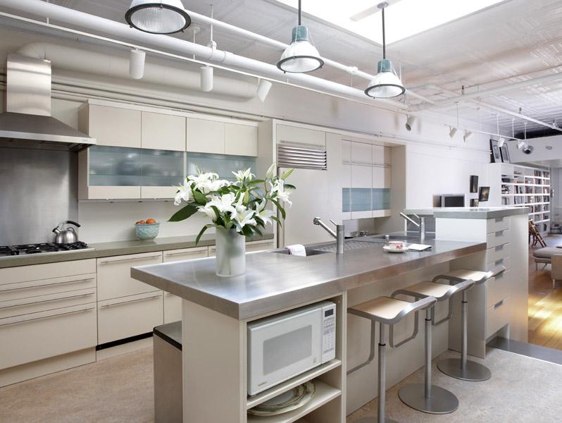 Modern Off White Kitchen