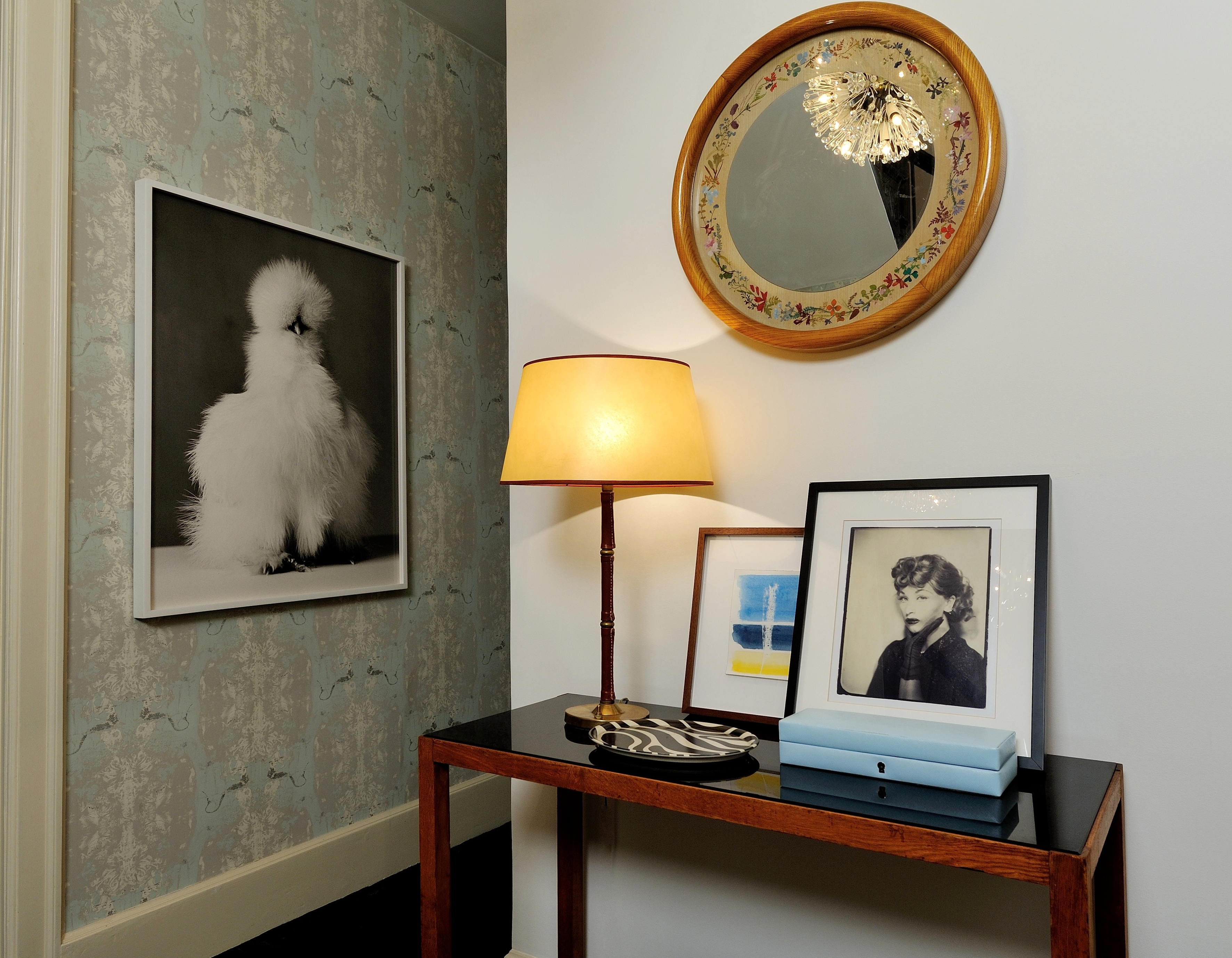 Foyer Mirror Height : The height of charm project featured in wall street journal renovating nyc